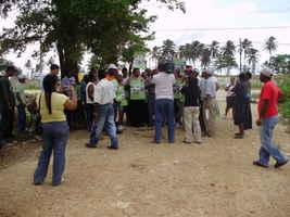 Desalojo Vista Alegre, Dominicana 7 oct 2008
