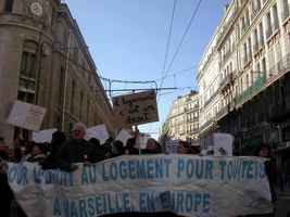 demo in rue republique
