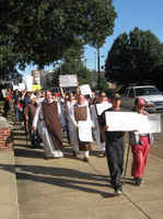 CHANGERs March for Housing, In Tennessee, USA, 2-10-09