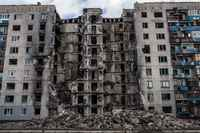 Displaced Ukrainians face housing crisis