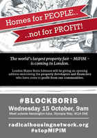 London, Homes for People, not for Profit