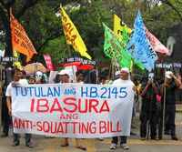 Philippines, Urban Poor Oppose Restoration of Anti-Squatting Law, MARCH 2011