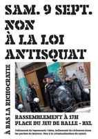 Rassemblement et semaine d'action contre la loi anti-squa