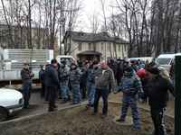 The Dubki park in Moscow defended by the Muscovites: women and children beaten up and arrested by police