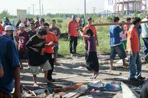 Resistance against evictions at Pasay City