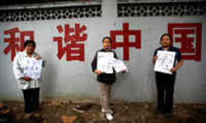 China silences women housing rights activists ahead of Expo 2010